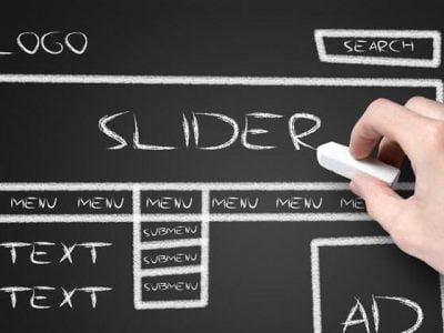 using slider / sliders in website (En utilisant le curseur)