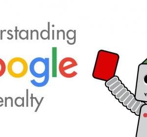 pénalité de Google