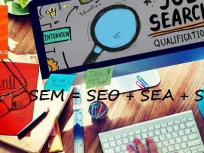 SEM=SEO+SEA+SMO