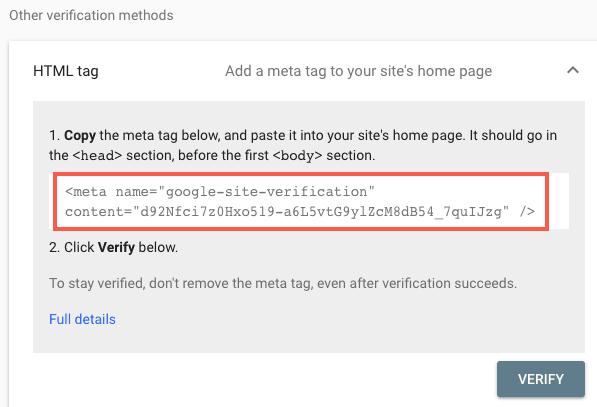 balises méta HTML