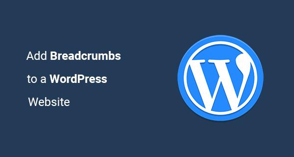 Breadcrumbs wordpress
