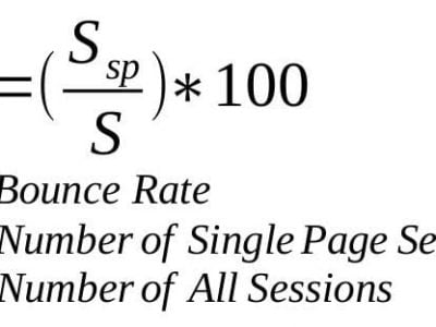 the bounce rate