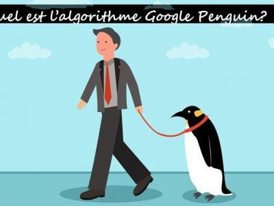 pénalisé par l'algorithme Penguin