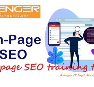 Web site SEO training