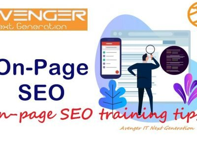 Web site SEO training