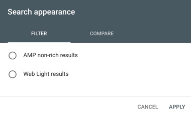 search-appearance-filter-new-google-search-console