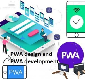 PWA design and PWA development services
