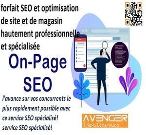 Forfait SEO Sur La Page De base - on-page seo