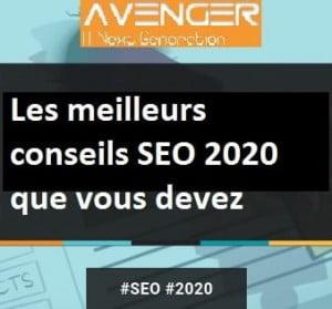 Les meilleurs conseils SEO 2020 que vous devez savoir