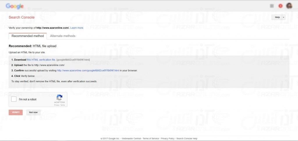 Google Site Registration - Confirmation