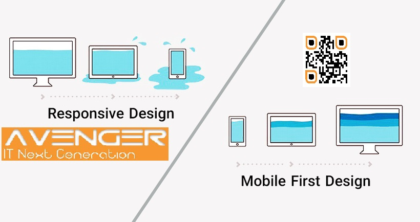 mobile first design and mobile and desktop versions