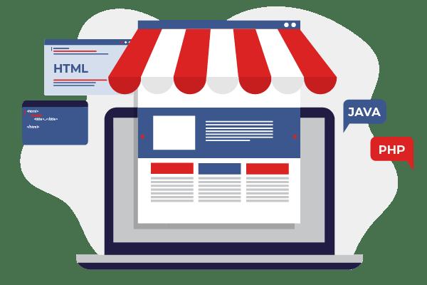 Store site design boutique en ligne