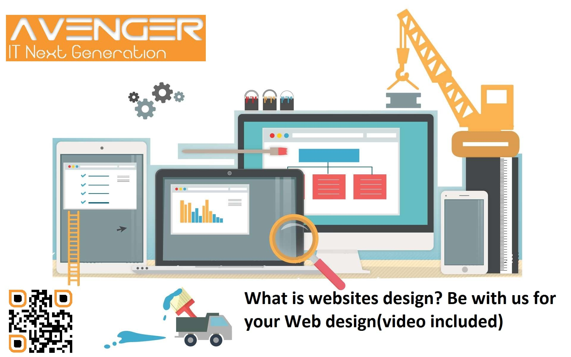 What is websites design?Be with us for your Web design(video included)