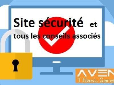 Site sécurité et tous les conseils associés