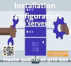le service de Installation et Lancer et configurer les serveurs