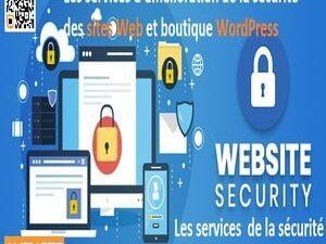 Les services d'amélioration de la sécurité des sites Web et boutique WordPress