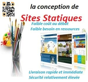 conception de sites statiques
