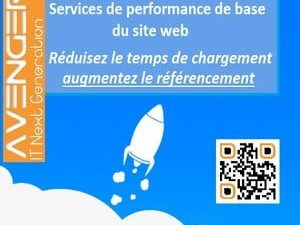 Services base de vitesse du site web (accélérer le site)