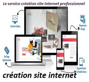 Services de conception de site Web
