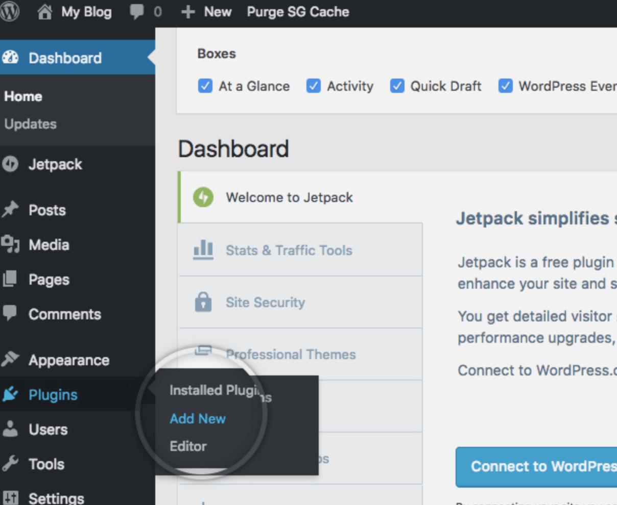 Apprendre à créer un site avec WordPress