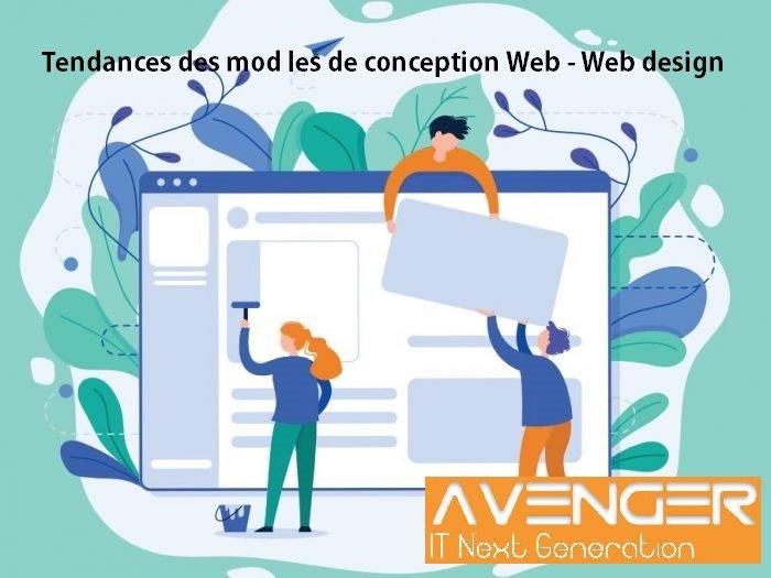 tendances des modèles de conception Web - Web design