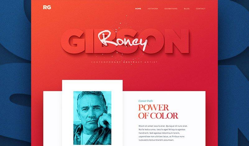 Typographie dans la conception du site