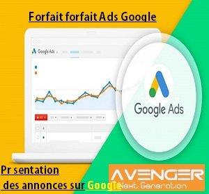 Présentation des annonces sur Google agence adwords paris
