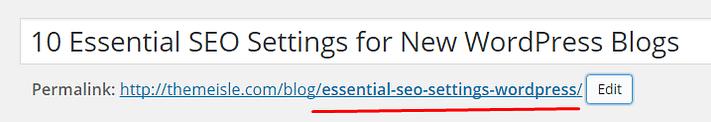 Slug structure in WordPress