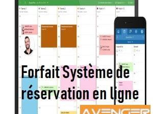 Forfait Système de réservation en ligne