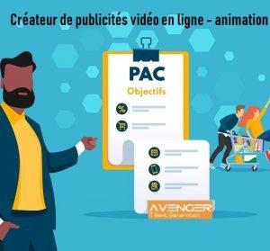 Créateur de publicités vidéo en ligne - animation publicitaire