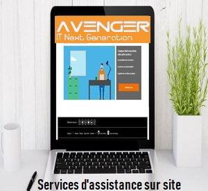 Services d'assistance sur site